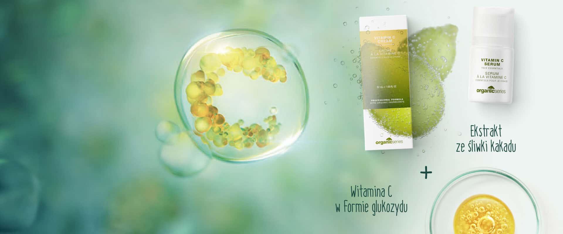 Krem i serum z witaminą C